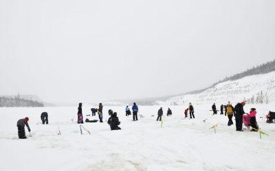 Bon succès pour l'activité de pêche hivernale au Lac Gobeil !