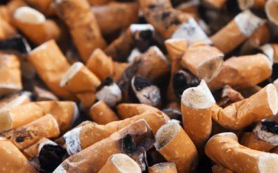 Les mégots de cigarette – campagne « Flushe » pas tes ordures
