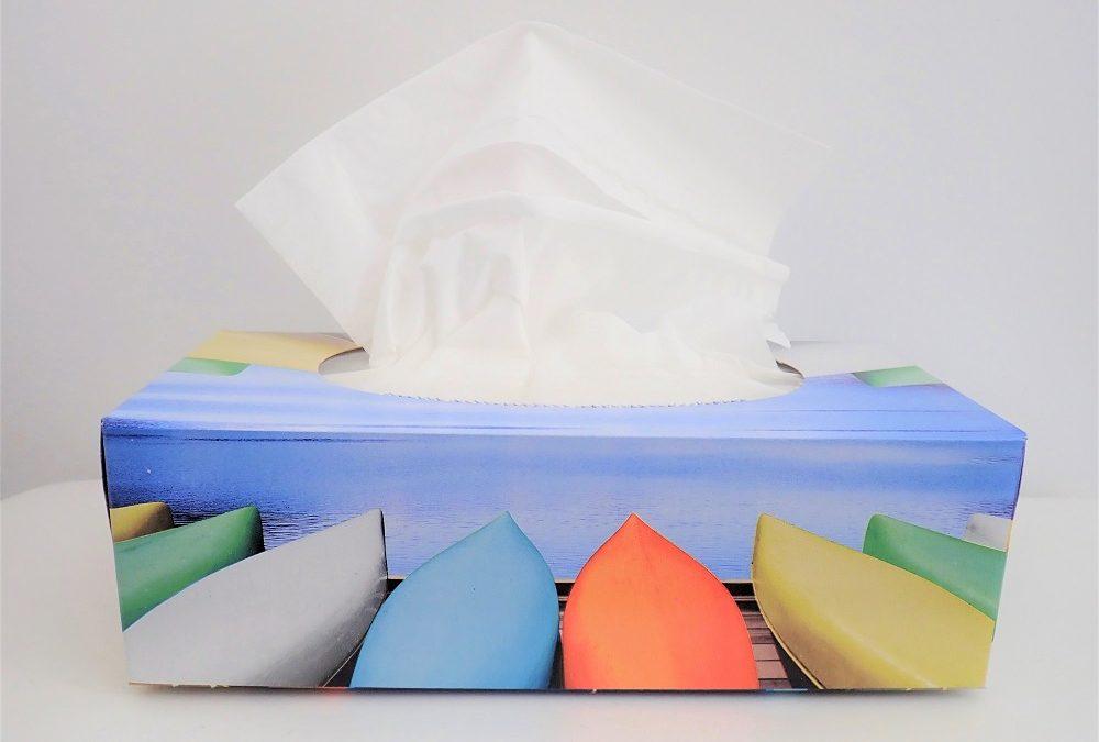 Les mouchoirs – campagne « Flushe » pas tes ordures