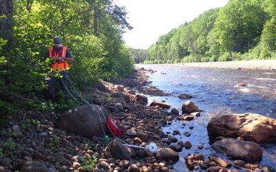 Étude hydrogéomorphologique de la rivière des Escoumins pour la préservation de l'habitat du saumon atlantique (Salmo salar)